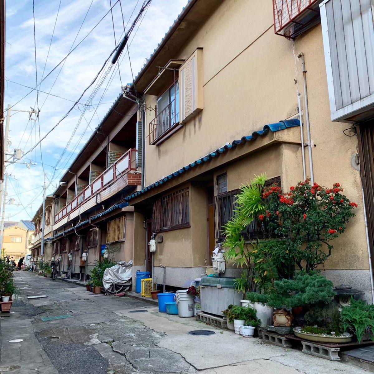 東浅香山町1丁文化住宅