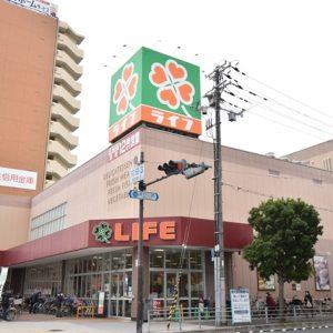 ライフあびこ店(約400m)食料品等も充実の大型スーパーも徒歩圏にございます。(周辺)