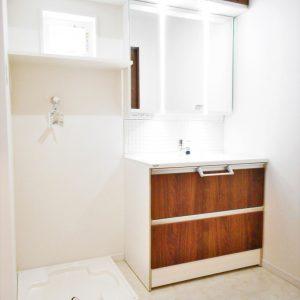 洗面室施工例(内装)