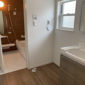 洗面室 同タイプ施工例(内装)