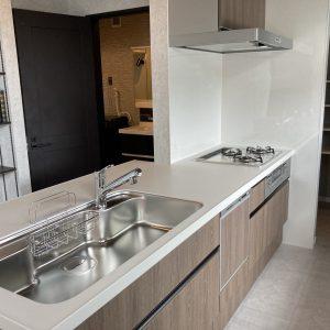 モデルハウス(2021年9月撮影)(キッチン)