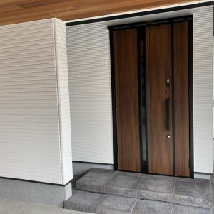 モデルハウス(2021年9月撮影)(玄関)