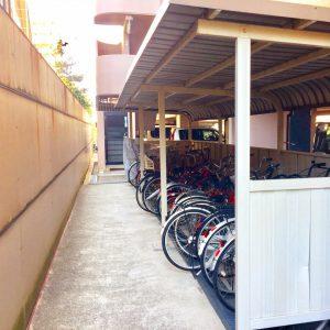 自転車置き場(内装)