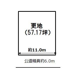 敷地図(間取)