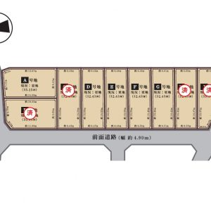 敷地図(玄関)