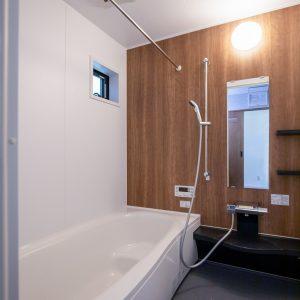 建物プラン例(内観写真)ゆったり一坪サイズのバスルーム(風呂)