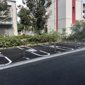 来客用駐車場(周辺)